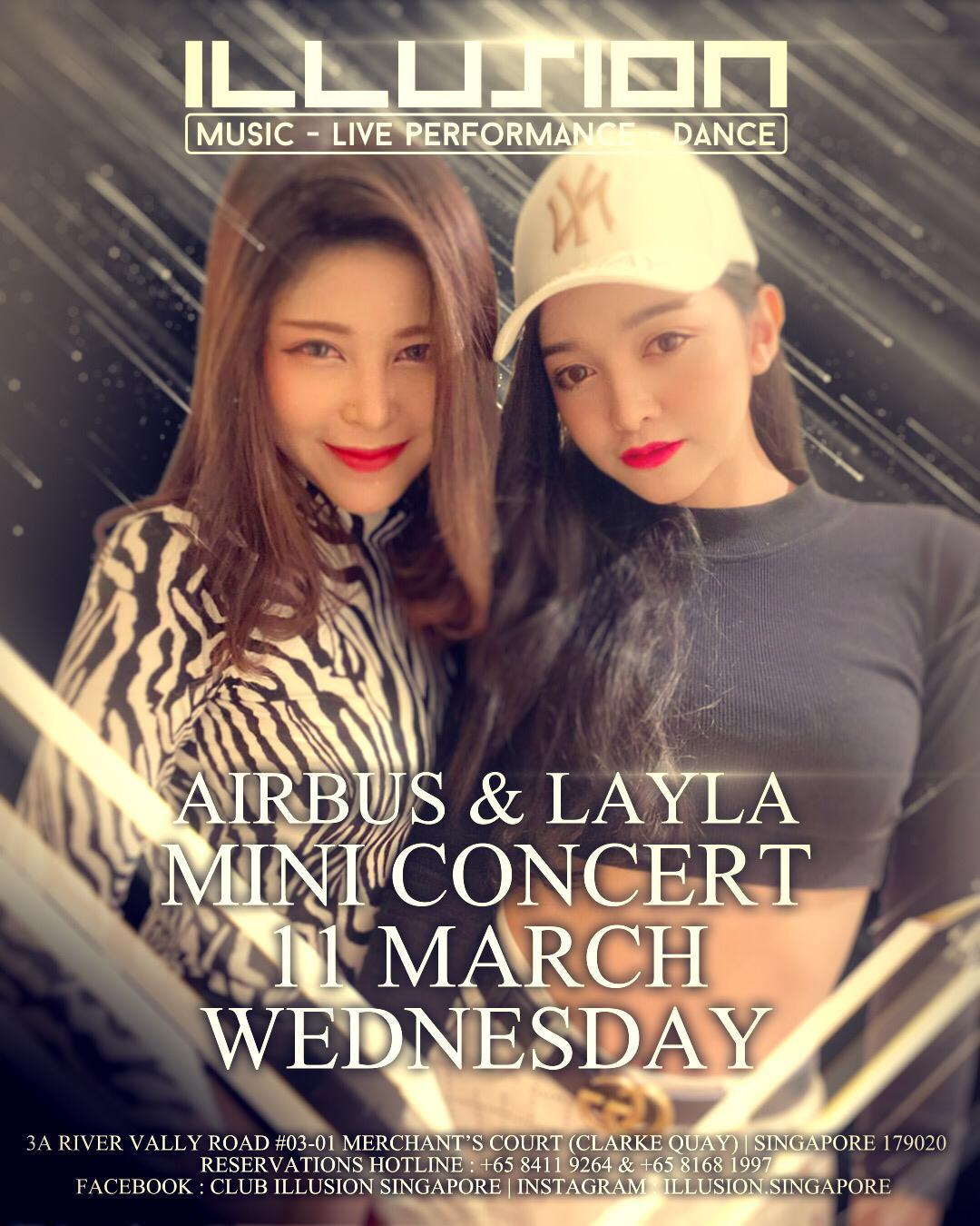 EVENTS – AIRBUS AND LAYLA CONCERT
